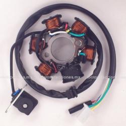 Estator 6 bobinas AC - Italika ATV 150 Sport / ATV 150 Sport c/ Reversa - Leike - Tank - Jinjian