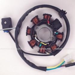 Estator 8 bobinas AC 125 y 150cc
