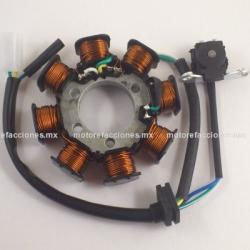 Estator 8 bobinas Honda Cargo / Bros 150