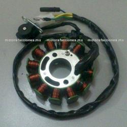Estator 12 bobinas DC Italika GS150 LED / GTS175 LED / TRN175 / GSC150 / GSC175