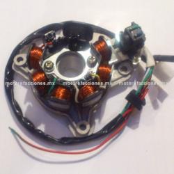 Estator 7 bobinas AC Honda Titan 125cc (1992 a 1995)