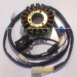 Estator 18 bobinas DC Bajaj Pulsar 180
