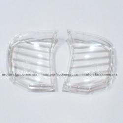 Micas de Direccionales Italika WS150 / WS175 - Vento Ruda - (Transparente)