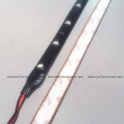 Tira Flexi-LED Verde de 60 cm - 12v - 24 LEDs
