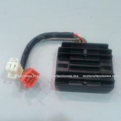 Regulador 6 puntas 2 conectores – 200 y 250cc - Italika EX200 / RT200
