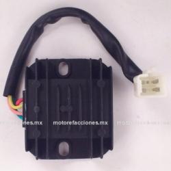 Regulador 4 puntas macho - 110, 125 y 150cc - Semiautomáticas