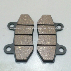 Balatas Disco AT110 / DS125 / DS150 / XS150 / GS150 / GTS175 / Vitalia 125 / DM150 - Vento Phantom - Marca ITALIKA