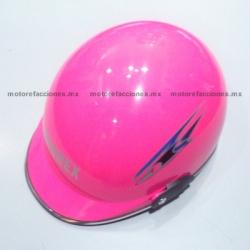 Casco Cachucha WL180 (rosa)