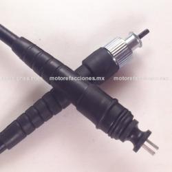 Cable de Velocimetro Italika D125 - Honda Cargo / Titan 125 con Terminal Delgada de 12 mm