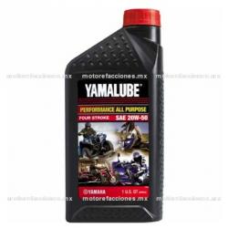 Aceite Yamalube 4T Multigrado SAE 20W50 Tipo JASO T903 (946 ml)