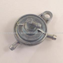 Llave de Gasolina Motonetas (paso) - Neumatica - Italika DS125 / DS150 / GS150 / GTS175 - Vento - Dinamo - 1 SALIDA