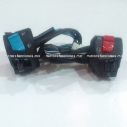 Mandos Italika FT150 / FT150 GT - (2 piezas)