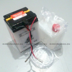 Bateria DB2.5L-C (12V-2.5Ah) - - - Italika FT110 / ST70 / ST90