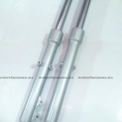 Barras Suspension Italika FT150 / FT150 GT - Vento Proton 150 - Gris (par)