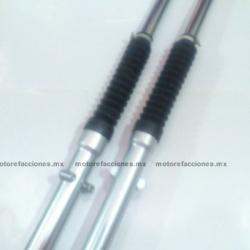 Barras de Suspension Delanteras para Italika FT125 (par) (gris)