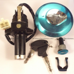 Switch Completo con Llave Motocicleta - Italika FT150 / FT150GT - Keeway Speed - Kurazai Delivery Max 150
