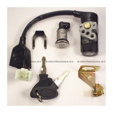 Switch Completo con Llave Motocicleta - Italika AT110 - Kurazai Galaxy
