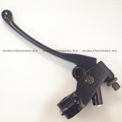 Manija Completa Izq. - Italika TC250 / EX200 / RT200 - Custom (Choper) (negro)