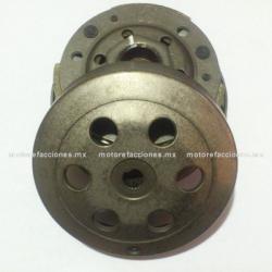 Clutch Centrifugo Completo Motonetas 90 y 100cc - Italika VS90 / PS90 - Dinamo Titi 100