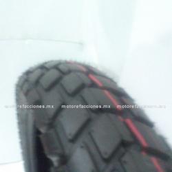 Llanta para Motocicleta 110/90-17 - (6 capas) - Italika DM150
