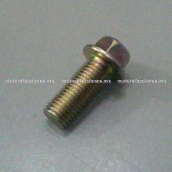 Tornillo 10x25 para Abrazaderas de Mofle o Escape Cilindrico para Motoneta - Italika DS WS - Phantom R4, R5