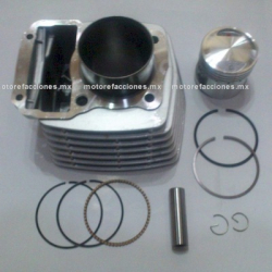 Kit de Cilindro Motocicleta - Italika FT125 (gris)