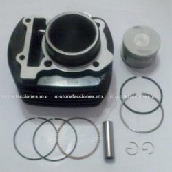 Kit de Cilindro Motocicleta - Yamaha FZ16 / FZ16 2.0 (negro)