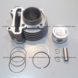 Kit de Cilindro GY6 - Motonetas 80 a 90cc - Italika VS90 - PS90 (Reemplazo Compatible)