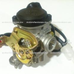 Carburador Completo – GY6 de 50 a 90cc - Italika VS90 / PS90 - 4 Tiempos