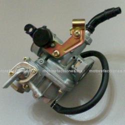 Carburador Completo - Ahogador Manual por Chicote - Motocicletas 110cc - Italika AT110 / AT110 Sport / Argenta 110
