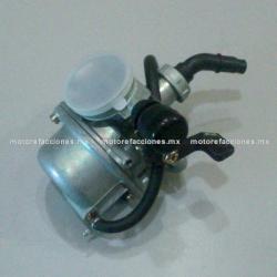 Carburador Completo - Ahogador Manual - Motocicletas 70 y 90cc - Italika ST70 / ST90