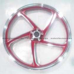 Rin Delantero Italika AT110 - (Rojo)