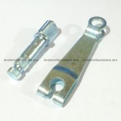 Brazo Actuador de Freno - Italika FT125 / FT150 / DT125 / DT150 y Motos tipo custom (choper)