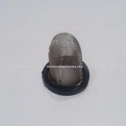 Cedazo del Tapon de Aceite - Motocicletas 125, 150 y 180cc - Italika FT125 / FT160 / FT180 - Custom Chinas 150cc
