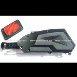 Depurador Completo Italika WS175 / GTS175 / TRN175 (incluye filtro)