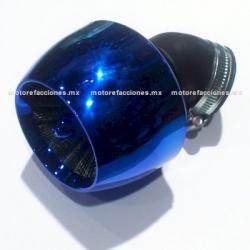 F.A. Alto Flujo Deportivo - Italika - Vento - Dinamo - Leike - Lifan - Carabela - Keeway (boquilla 42-43mm) - (azul)