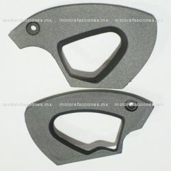 Tapas de Manija Italika DS125 / DS150 / XS150 - Phantom R4, R5 - Adventure - Siluete – VX150