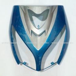 Cubierta de Faro Italika DS150 - Vento Phantom R5 - Carabela VX150 - Dream Siluete (Azul c/ Plata)