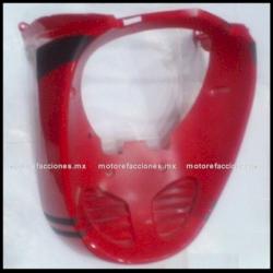 Panel o Encarenado Italika DS150 - Vento Phantom R5 - Carabela VX150 - Dream Siluete (Rojo c/ Negro Brillante)