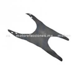 Tapete de Goma - Italika DS125 / DS150 - Vento Phantom R3, R4, R5 - Carabela VX150 - Dream Siluete