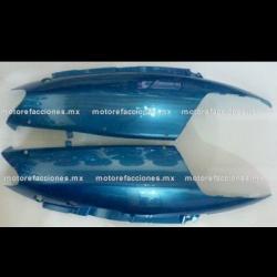 Cubiertas Traseras Italika DS125 / DS150 / XS150 - Phantom R4, R5 - Adventure – VX150 (Azul)