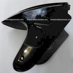 Salpicadera (Negro Brillante) Italika DS125 / DS150 / XS150 / TS170 / GTS175 – Phantom R4, R5 - Adventure - Siluete - Warrior