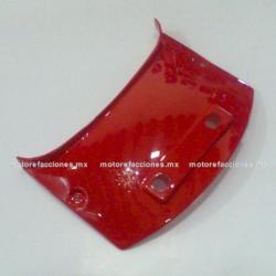 Cubierta Union Superior DS125 / DS150 / XS150 - Vento Phantom R4, R5 - Carabela VX150 - Dream Siluete (Rojo)