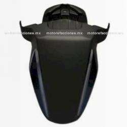 Salpicadera Delantera Motoneta Italika WS150 (Negro Mate c/ Azul)