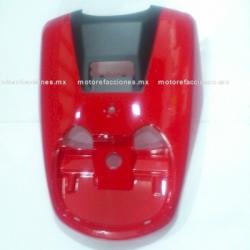 Cubierta de Faro Motoneta Italika WS150 (Rojo c/ Negro)