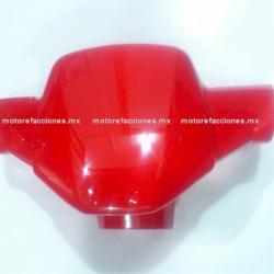 Cubierta de Manubrio (Antifaz) Motoneta Italika WS150 (Rojo)