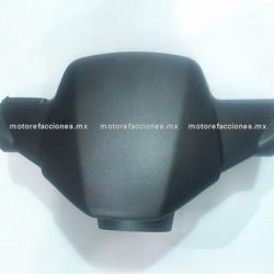 Cubierta de Manubrio (Antifaz) Motoneta Italika WS175 / WS150 Nueva Versión (Negro Mate)