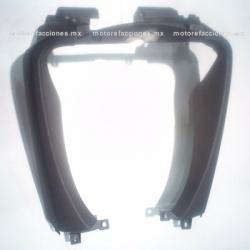 Cubierta Frontal Inferior (panel o encarenado) Motoneta Italika WS175 / WS150 solo Nueva Versión (Negro Mate)