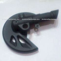 Protector de Disco Motoneta Italika WS150 / WS175 (negro)
