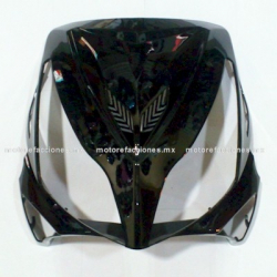 Cubierta de Faro Motoneta Italika GS150 / GTS175 - Vento Phantom 9i (Negro Brillante)
